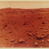 NASA · Viking Lander 1, Mars, 1976, July 21, c-print on semi-matte PE paper, 19,1 (20,2) x 22 (25,4) cm, ©NASA, Courtesy: Daniel Blau, Munich