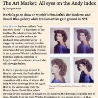 Warhol Financial Times