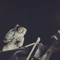 "Apollo IX ""Russell Schweickart on LM 'Spider' Extravehicular Activity, the Moon Reflecting in his Visor"", March 6, 1969 ©NASA Courtesy Daniel Blau Munich"
